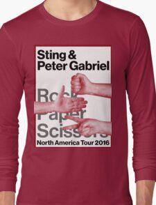 rock paper scissors tour 2016 didit Long Sleeve T-Shirt