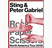 rock paper scissors tour 2016 didit Unisex T-Shirt