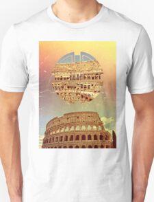 Geometric Colosseum Rome Italy Historical Monument Unisex T-Shirt