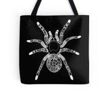 Henna Spider - Black Tote Bag