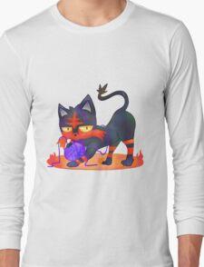 Litten - PKMN Sun & Moon  Long Sleeve T-Shirt
