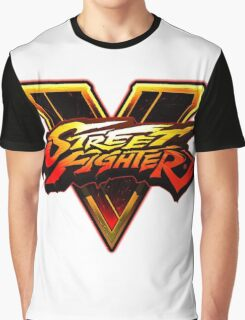 street fighter v logo nakula Graphic T-Shirt