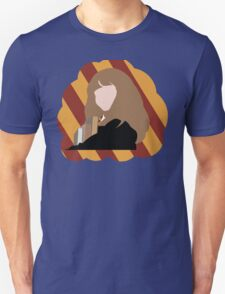 Hermione with Gryffindor colors Unisex T-Shirt