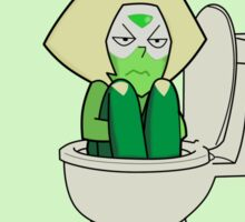 Steven Universe - Peridot in the Toilet Sticker