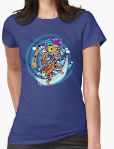 Surfer Womens Fitted T-Shirt