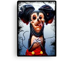 Scarry Mouse Canvas Print