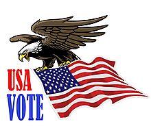 USA VOTE Photographic Print