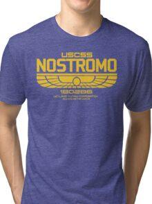 USCSS Nostromo Logo Alien Movie T-shirt Tri-blend T-Shirt