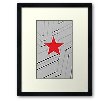 the winter soldier 2 Framed Print
