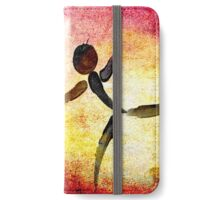 I Need YOUR Hug!!! Fingers Painting iPhone Wallet/Case/Skin