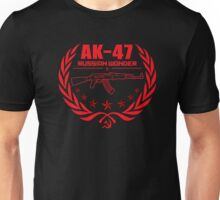 AK-47 Russian Rifle  Unisex T-Shirt