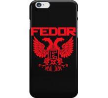 Fedor Emelianenko Last Emperor MMA iPhone Case/Skin