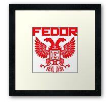 Fedor Emelianenko Last Emperor MMA Framed Print