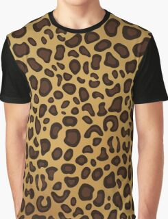 Leopard Skin Graphic T-Shirt