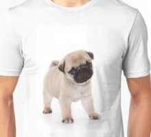 Charming cute pug puppy dog Unisex T-Shirt
