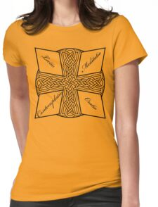 Lectio Divina Cross Womens Fitted T-Shirt