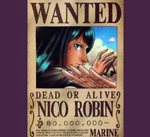 Nico Robin Wanted Poster Unisex T-Shirt