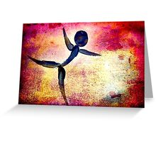 Dance Like You Are Flying... Greeting Card