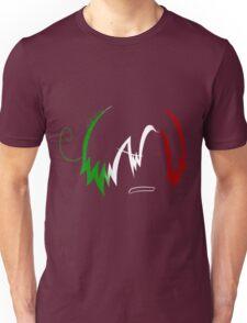Romano: Italian Flag Unisex T-Shirt