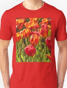 Artistic Tulips T-Shirt