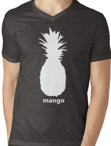 A delicious mango Mens V-Neck T-Shirt