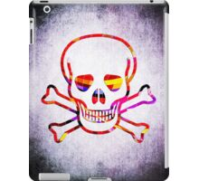 Cool Skull with Colors Palette iPad Case/Skin