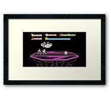 Super Smash Bros. RPG Framed Print