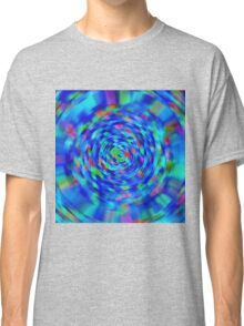 Blue Pond Ripple Classic T-Shirt