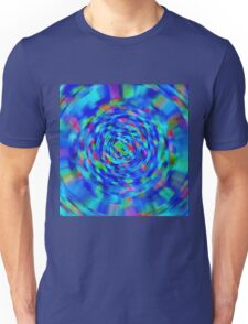 Blue Pond Ripple Unisex T-Shirt