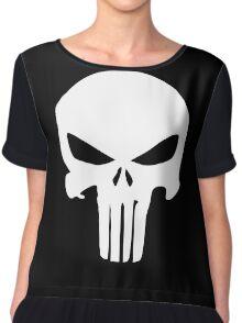 The Punisher Insignia Chiffon Top