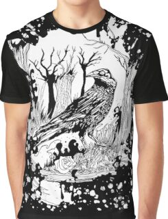 The Black Crow Graphic T-Shirt