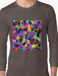 Confetti in Jewel Tones Long Sleeve T-Shirt
