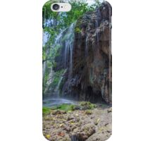 Serenity at Hugh's Dale Waterfall iPhone Case/Skin