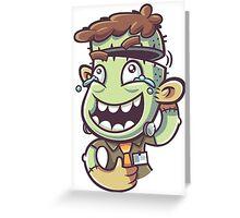 Franke Boy Greeting Card