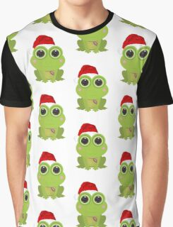 Christmas Frog Graphic T-Shirt