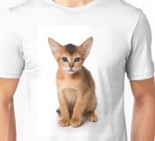 Red fluffy kitten Abyssinian Unisex T-Shirt