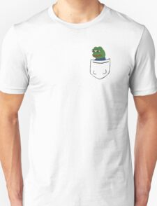 Pepe in a Pocket Unisex T-Shirt