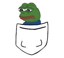 Pepe in a Pocket Photographic Print
