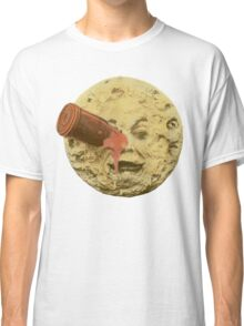 A trip to the moon (Color) Classic T-Shirt