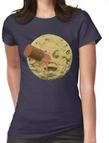 A trip to the moon (Color) Womens Fitted T-Shirt