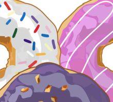 Donuts Make Me Happy Sticker