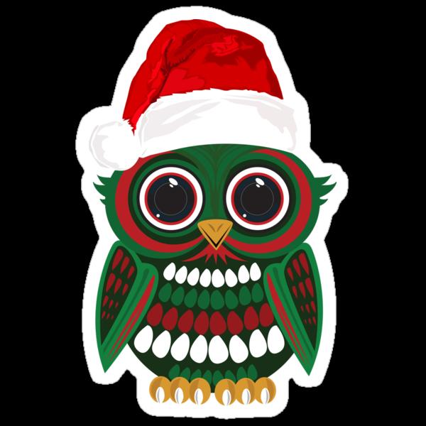 Christmas Owl by Adamzworld