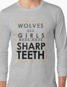 Wolves and Girls Long Sleeve T-Shirt