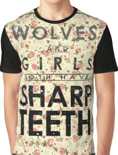 Wolves and Girls Graphic T-Shirt