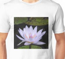 Water Lily Flower Unisex T-Shirt