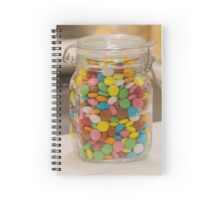 sweet candy in the jar Spiral Notebook