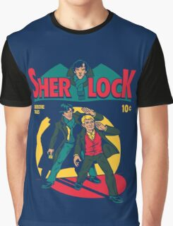 sherlock comic Graphic T-Shirt