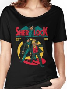 sherlock comic Women's Relaxed Fit T-Shirt