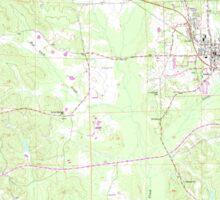 USGS TOPO Map Alabama AL Gordo 304006 1967 24000 Sticker