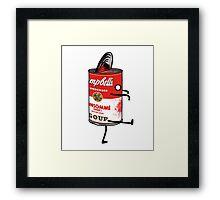 Zombie Tomato Soup Framed Print
